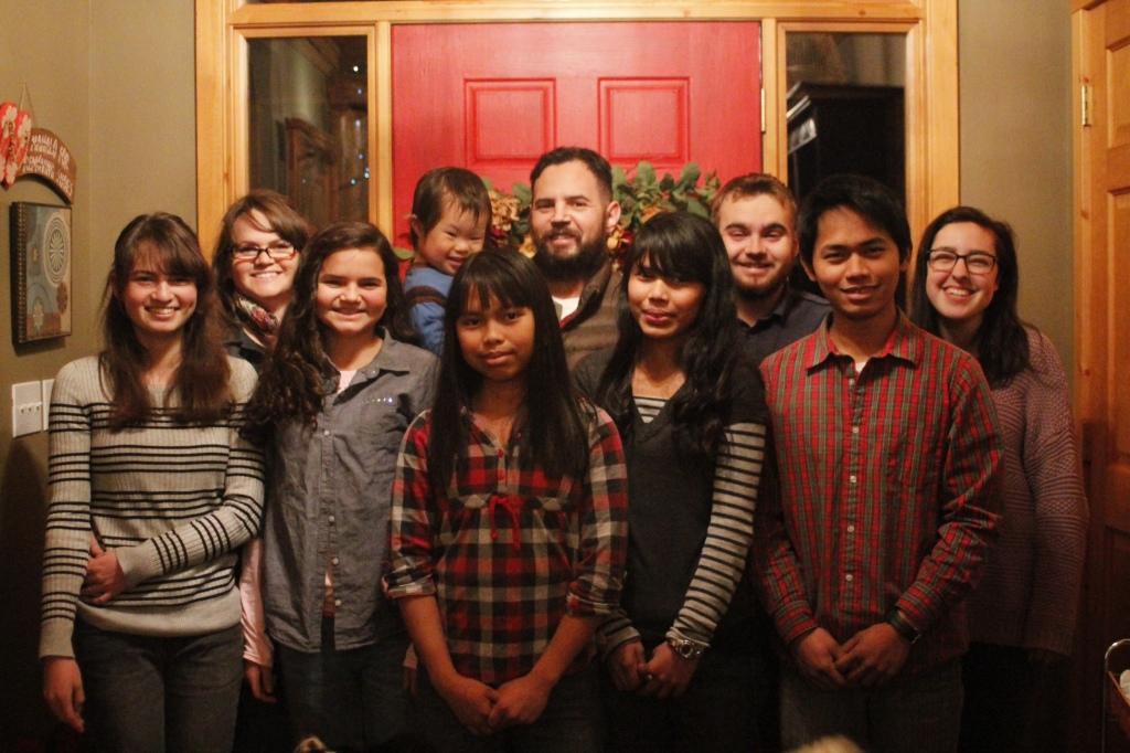 family photo Xmas 2014